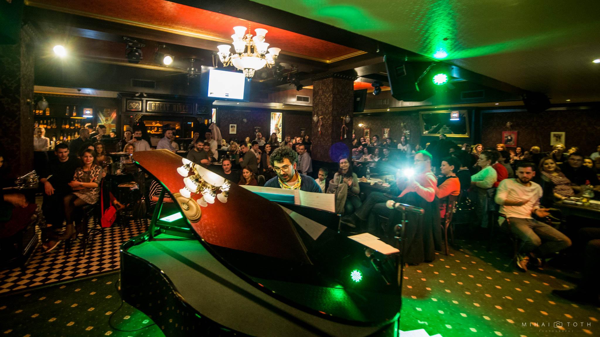 Teo Milea la The Note Pub in concert