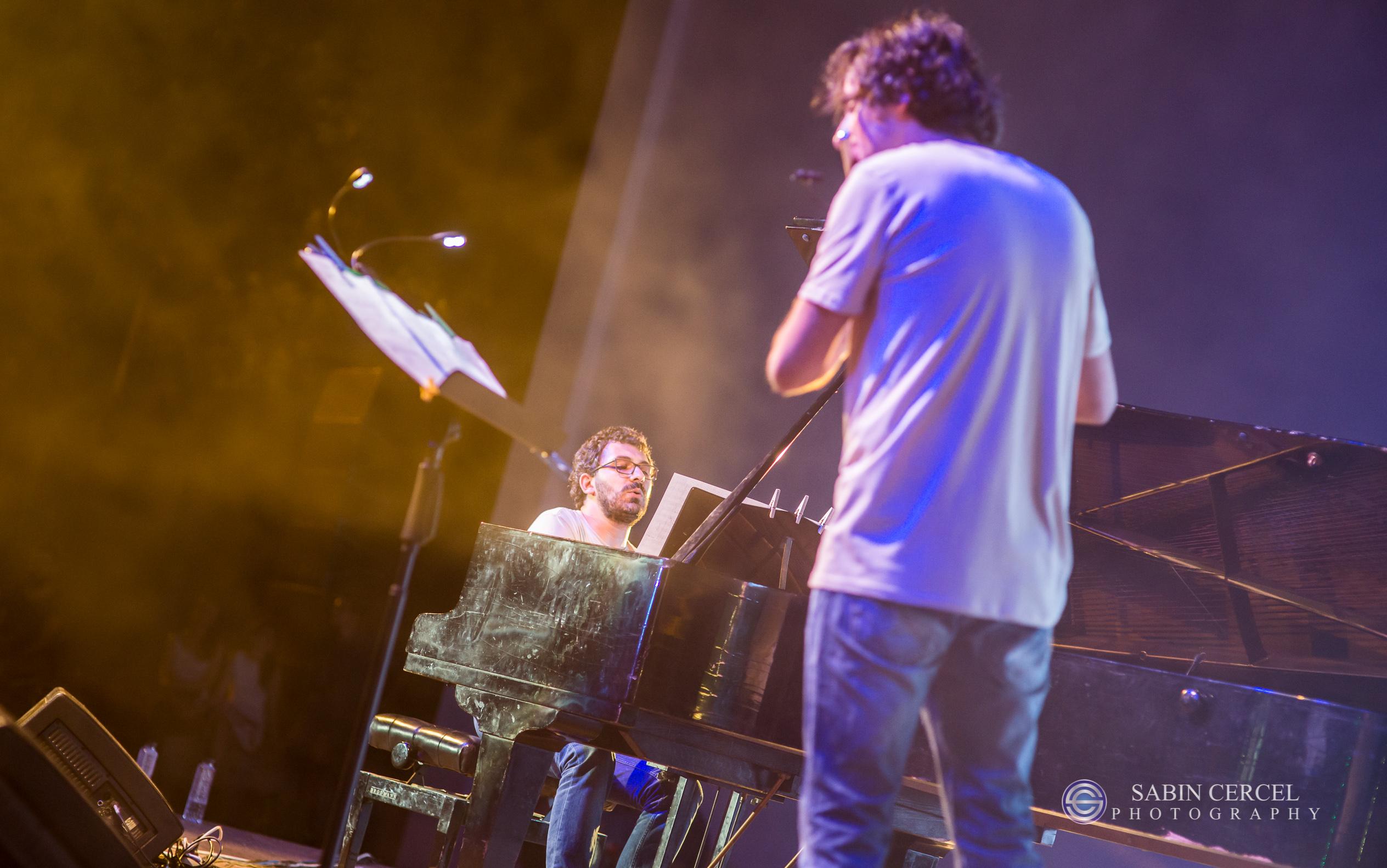 Pianist Teo Milea performing in Timisoara (Romania 2015)