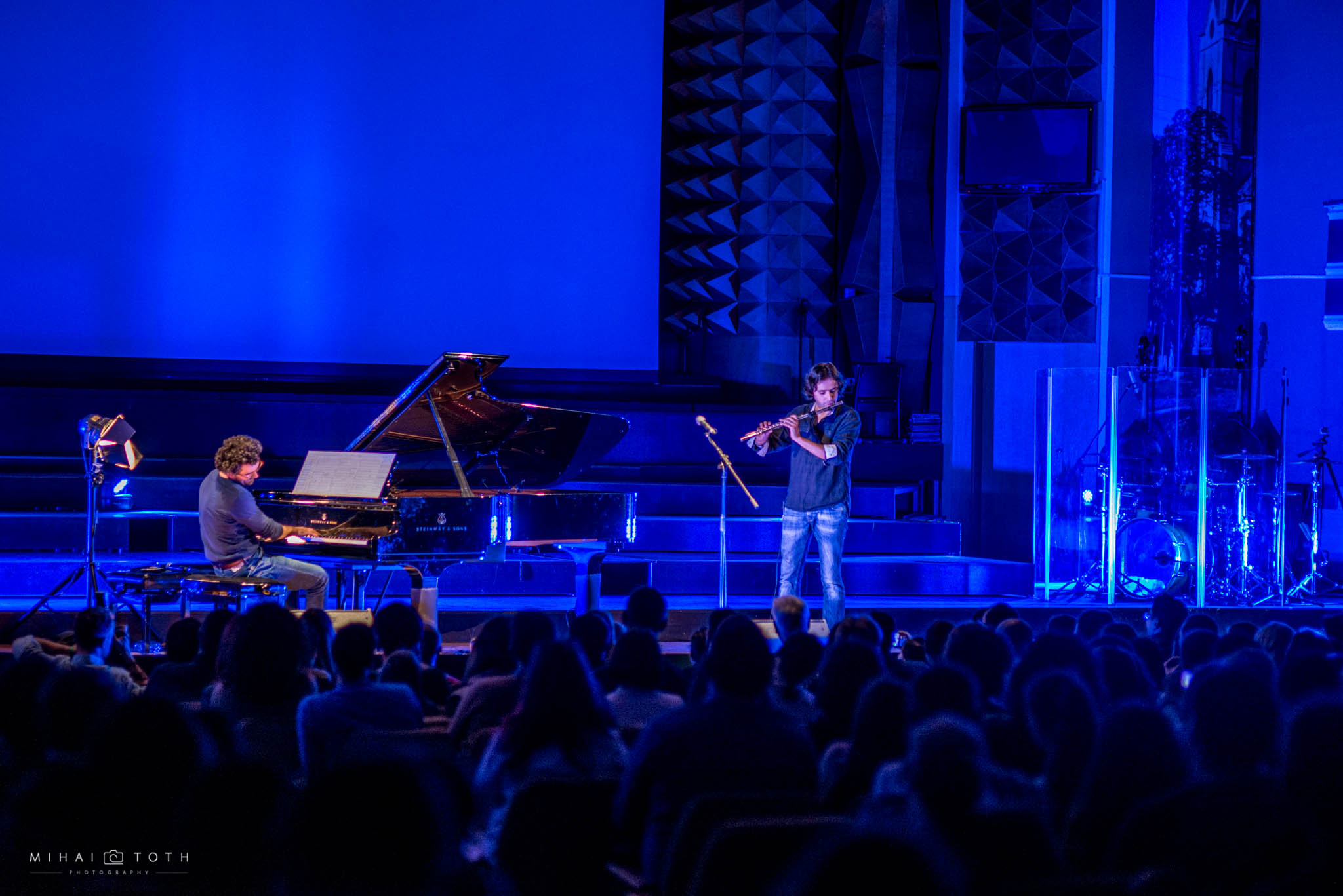 Pianist Teo Milea performing at Timisoara Philharmonic Hall | New Album Release 'Open Minds' (2016)