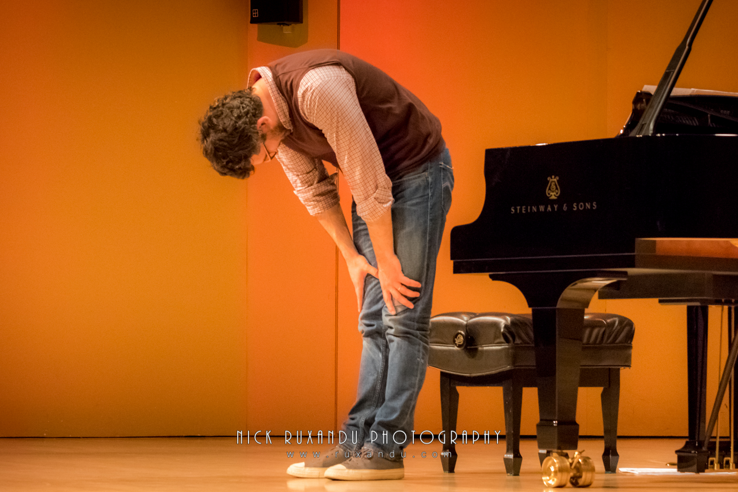 Pianist Teo Milea performing in Montreal (Canada, 2016)