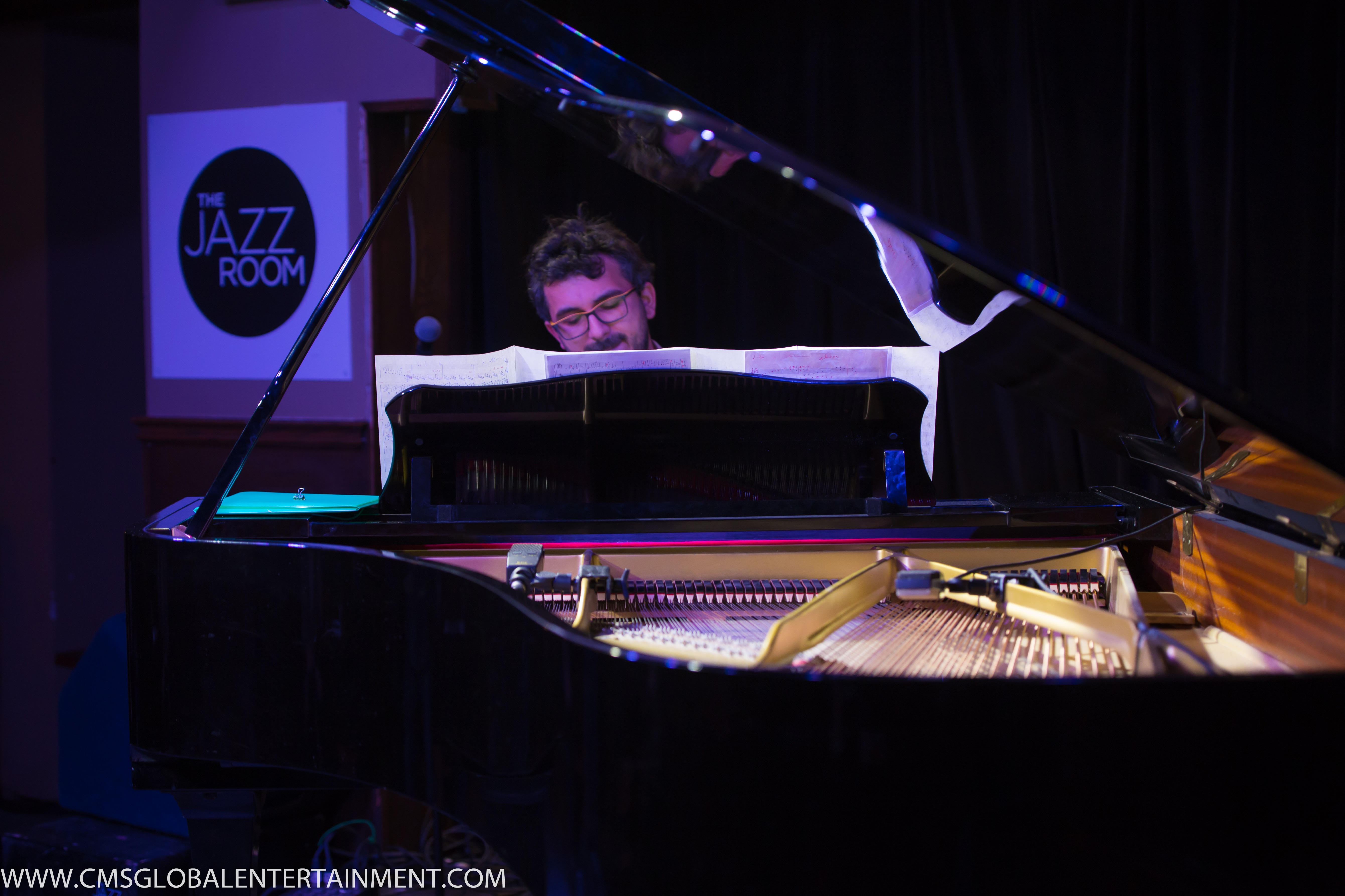 Teo Milea performing at The Jazz Room in Waterloo