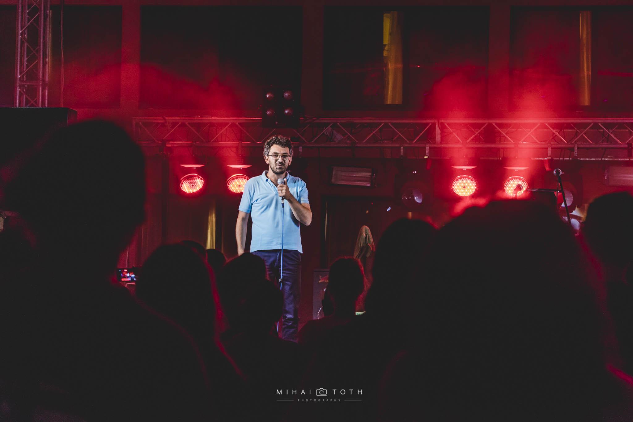 Pianist Teo Milea performing at Music Travel Festival (Romania, 2016)