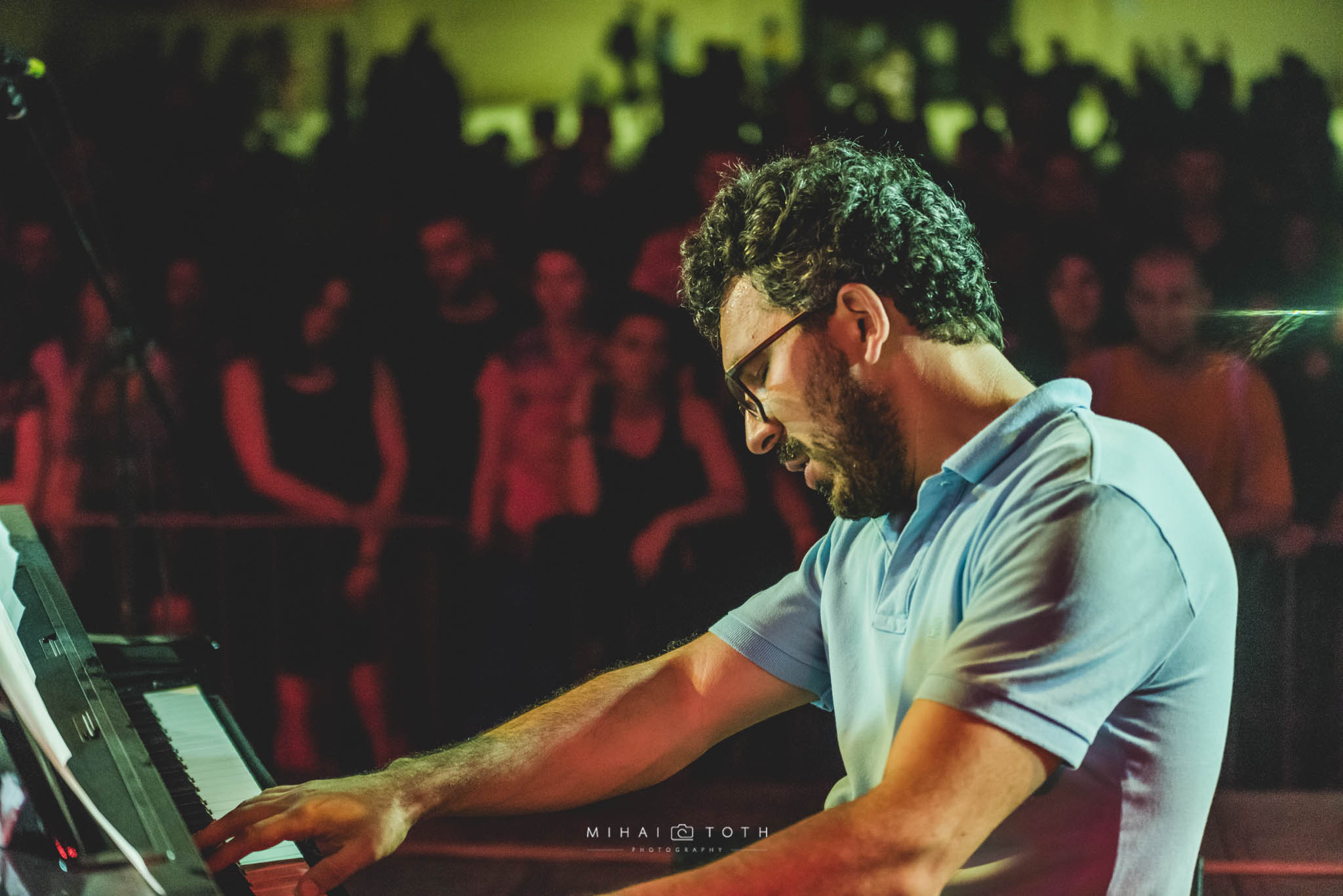 Pianist Teo Milea performing at Music Travel Festival (Romania, 2016)